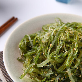 协东盛 即食调味裙带菜 250g 寿司料理海草 海藻沙拉 海鲜火锅凉菜 冷冻蔬菜 方便菜 生鲜 速冻食品 半成品菜