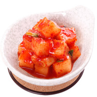 富爸爸 韩国风味泡菜 萝卜块泡菜 750g