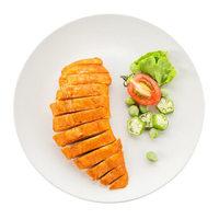优形(ishape)电烤鸡胸肉奥尔良味600g 鸡肉 健身餐 轻食