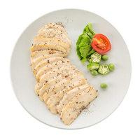 ishape 优形 鸡胸肉蒸黑胡椒切片味100g*6袋 即食低卡高蛋白低脂代餐轻食健身餐