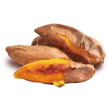 高山黄金蜜薯 安娜芋 地瓜 2.5kg 中果 烤地瓜 蔬菜礼盒 新鲜蔬菜