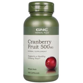 健安喜 GNC 蔓越莓胶囊 100粒/瓶  美国进口