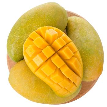 海南金煌芒 芒果 2个装 单果约400-600g 新鲜水果