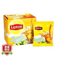 立顿Lipton 清新柠檬风味茶固体饮料 18g*10 独立速溶袋装茶粉 茶叶