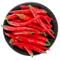 绿鲜知 红米椒 指天椒 小辣椒 约250g 火锅食材 新鲜蔬菜
