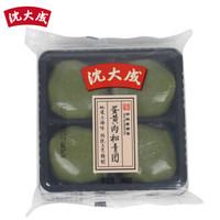 沈大成  青團 蛋黃肉松口味 240g(4個 上海老字號 清明節 踏青 糯米糍 大福)杏花樓出品 *3件