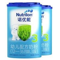 Nutrilon 诺优能 婴儿配方奶粉 中文版 3段 800g 4罐装