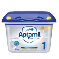 中亚Prime会员:Aptamil 爱他美 白金版 婴儿配方奶粉 1段 800g  *3件