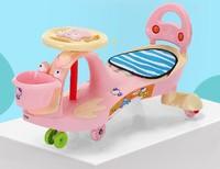 兒童音樂扭扭車萬向輪女寶寶搖擺車
