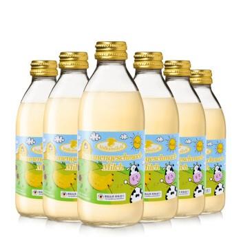 Volksmilch 德质 香蕉味脱脂牛奶 240ml*6瓶