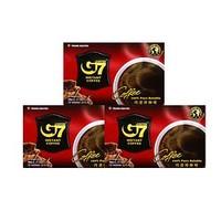 G7 COFFEE 中原 黑咖啡粉 30gx3盒 45杯 *7件