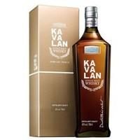 KAVALAN 金车噶玛兰 珍选单一麦芽威士忌 700ml