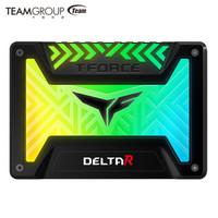 Team 十铨 DELTA 500GB SATA3 RGB固态硬盘 黑色