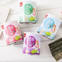 京東PLUS會員 : 新鄰坊 兒童休閑零食 芝麻夾心海苔夾心脆 40g*5罐整箱裝年貨 每種口味1罐/整箱 *2件