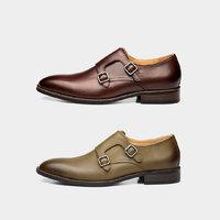 小米有品 M71Mk01 男士七面小牛皮孟克鞋