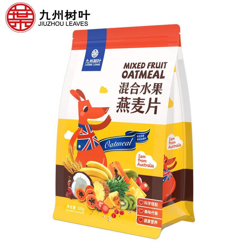 九州树叶 水果麦片 500g