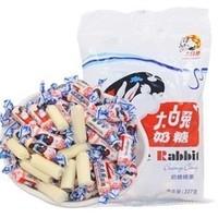 大白兔 奶糖 散装 200g + 仔仔棒棒糖*2支