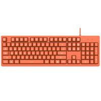 京東PLUS會員 : 斗魚 DKS100 橙色 機械鍵盤