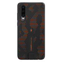 HUAWEI 華為 P30 無線充電保護殼 動感橙/電光藍