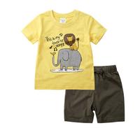 Minizone 儿童纯棉短袖套装 *3件