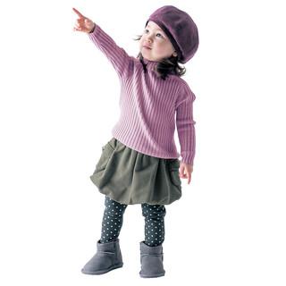 千趣会   GITA 春秋女宝宝高腰护肚打底裙裤(建议3个月-4岁) *2件