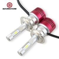 MARKCARS 邁酷勢 汽車LED大燈 H7 6000K 一對裝