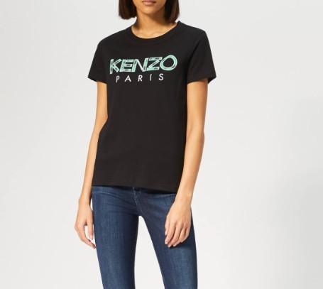 KENZO 女士字母logo 经典T恤