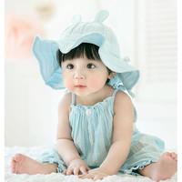 公主妈妈 儿童春秋防晒沙滩帽