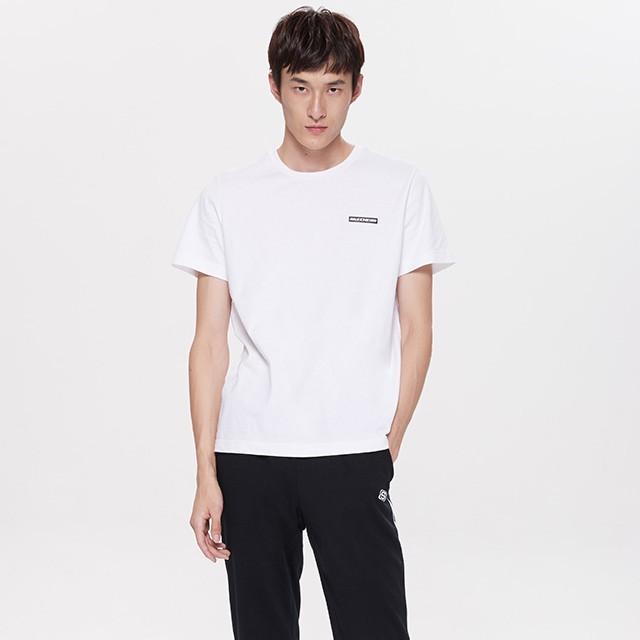 SKECHERS 斯凯奇 SL3MT18M06 男款短袖T恤