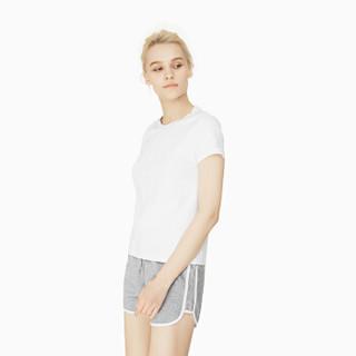 INTERIGHT 短袖女 水柔棉圆领短袖T恤