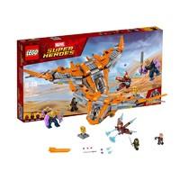 网易考拉黑卡会员:LEGO 乐高 超级英雄系列 复仇者联盟3 76107 灭霸终极之战