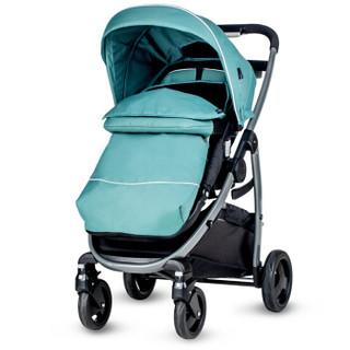 美国GRACO葛莱婴儿推车 加强避震可座可平躺 高景观双向手推车 全阶段(0-3岁)慕驰系列 孔雀绿