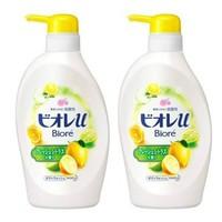 Biore 碧柔 柠檬沐浴露 480ml*2瓶