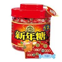 限地区:徐福记 新年糖 缤纷什锦装 550g *2件
