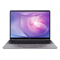 华为(HUAWEI)MateBook 13 全面屏轻薄性能笔记本(i5-8265U 8G 256G 集显 office 2K 一碰传)深空灰