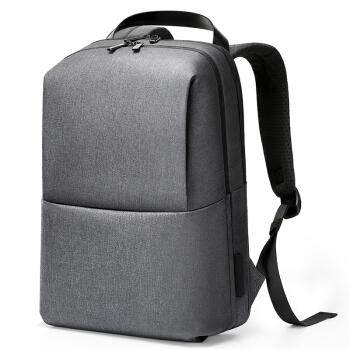MEIZU 魅族 极简都市双肩包 15.6英寸 朴素灰