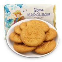 烏克蘭進口 格蘭娜 Grona 牧童圖案牛奶味餅干 休閑零食 辦公室點心 290g/袋 *10件