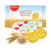 馬來西亞進口 馬奇新新(munchy's)全麥8字型發酵餅干184g 全麥酥性消化餅干 *13件