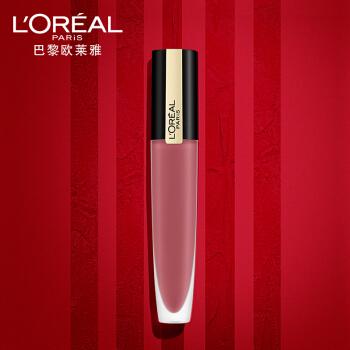欧莱雅(LOREAL)印迹唇釉 121  小钢笔哑光持久染唇液口红 7ml