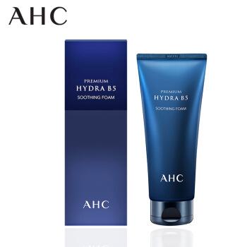 AHC B5玻尿酸臻致洗面奶  韩国原装进口  180ml(温和洁面 清理毛孔 补水保湿 深层清洁)