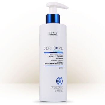 欧莱雅(LOREAL)芯基源洗发水(针对自然细软发质) 250ml(进口/专业)丰盈蓬松焕发头皮生机