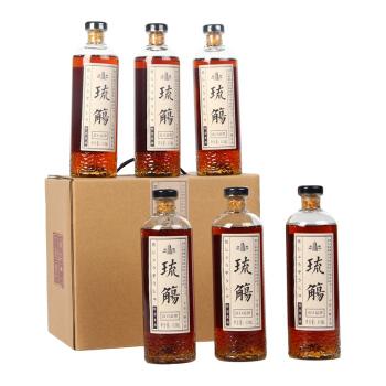 塔牌 绍兴黄酒 琉觴 出口特型黄酒 半甜型黄酒 410ml*6瓶 整箱装