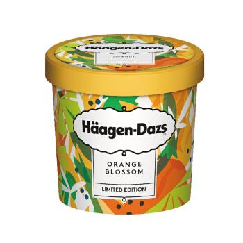 哈根达斯 黑胡椒 橙花 佛手柑 口味 冰淇淋 100ml