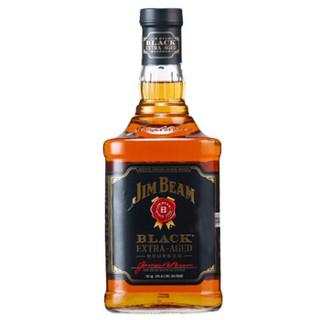 JIM BEAM 金宾 Jim Beam 金宾 黑牌波本威士忌 700ml