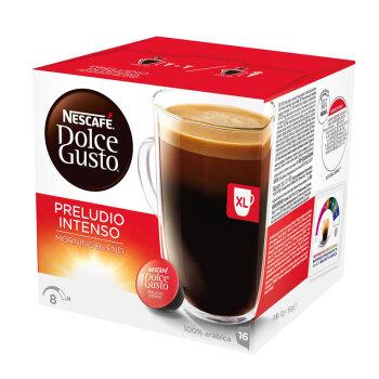 英国进口 美式晨光浓烈 雀巢多趣酷思(Dolce Gusto) 黑咖啡胶囊 研磨咖啡粉 16粒装