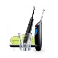 61预售:PHILIPS 飞利浦 HX8491/03 钻石电动牙刷 +AirFloss 冲牙器