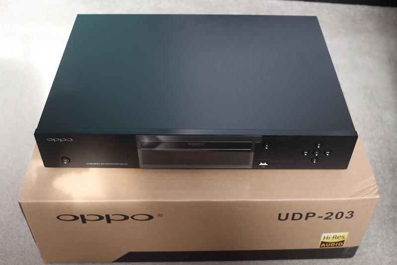 OPPO UDP-203 4K UHD高清3D蓝光机60版越狱现货