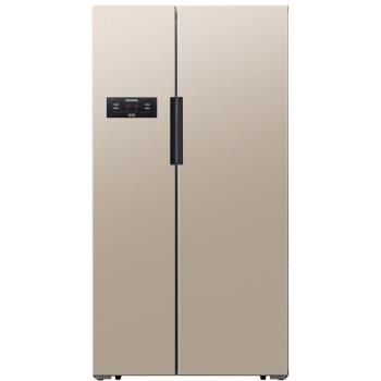 SIEMENS 西门子 BCD-608W(KA61EA03TI) 变频风冷 对开门冰箱 608升 (608L、2级、变频)