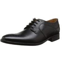 中亚Prime会员、限尺码:Clarks Kalden Edge 男?#21487;?#21153;休闲鞋