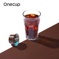 ONE 一个 onecup胶囊咖啡 (美式咖啡、袋装、中深烘焙、30杯)
